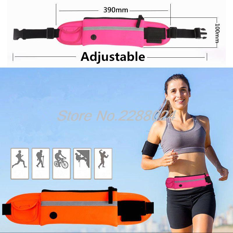 Cubierta de la caja del teléfono de la bolsa del cinturón de la cintura para correr bolsa de Jogging para Intex karbong Micromax ostras oppo Lava