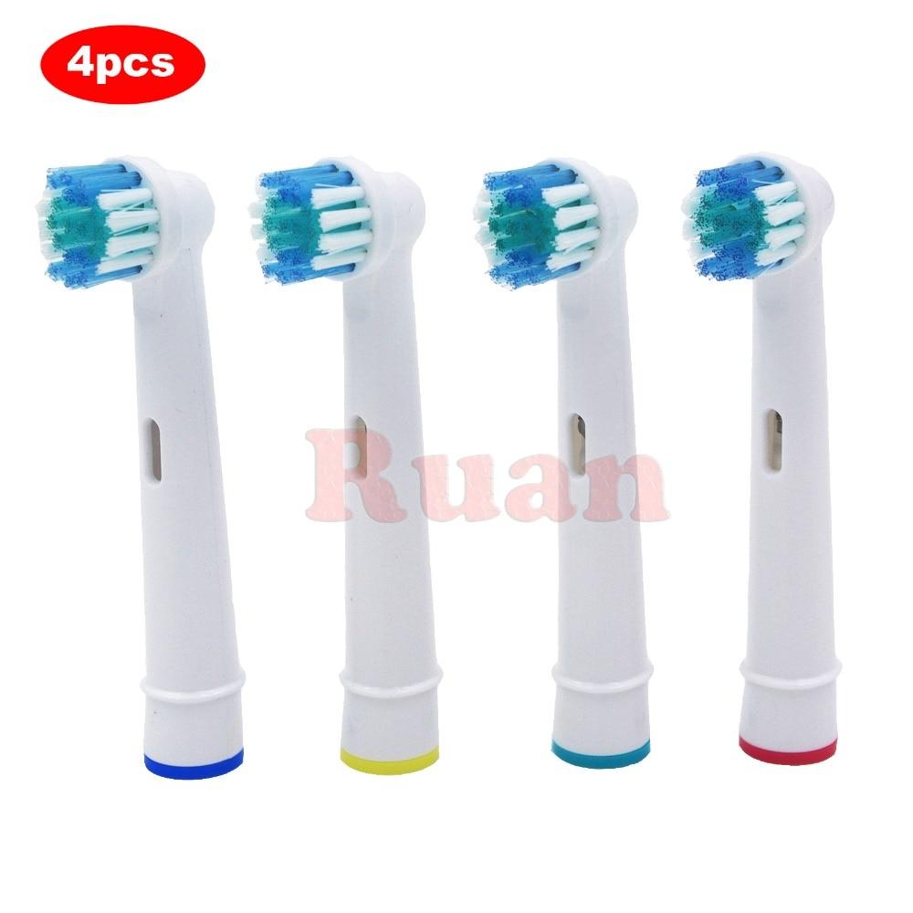 Сменные насадки для электрической зубной щетки Oral-B, 4 шт., для Braun Professional Care/Professional Care SmartSeries/TriZone