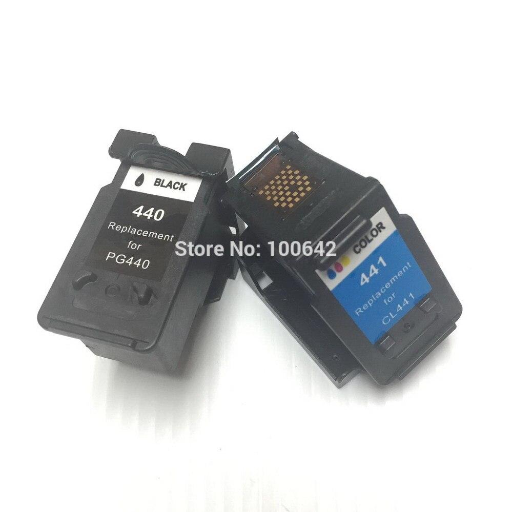 YOTAT 1 Набор восстановленных чернильных картриджей PG440 CL441 PG-440 CL-441 для Canon MG2240 MG3140 MG3240 MG4240 MG3540 MX394 MX474 MX534