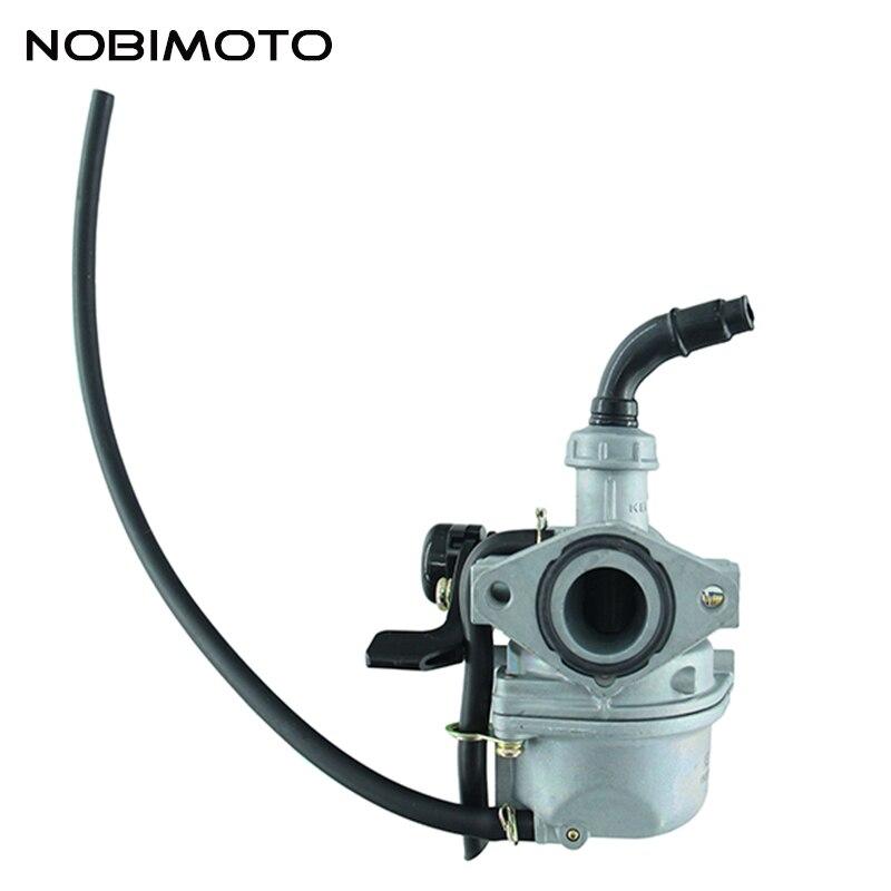 Carburador de motocicleta Keihin PZ19 19mm kit de carburador de estrangulador de Cable para Mini scooter ciclomotor ATV uso HK-143