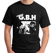 Aufgeladen GBH Album Street Punk Band T-Shirt Männer T Shirt Druck Baumwolle Kurzarm T-Shirt Hohe Qualität Persönlichkeit