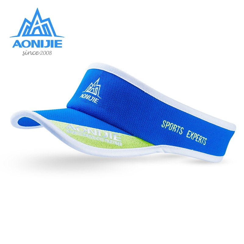AONIJIE Sports experts hat Summer Sunscreen no top Hats Outdoor Tennis Beach Hat peaked cap E4075