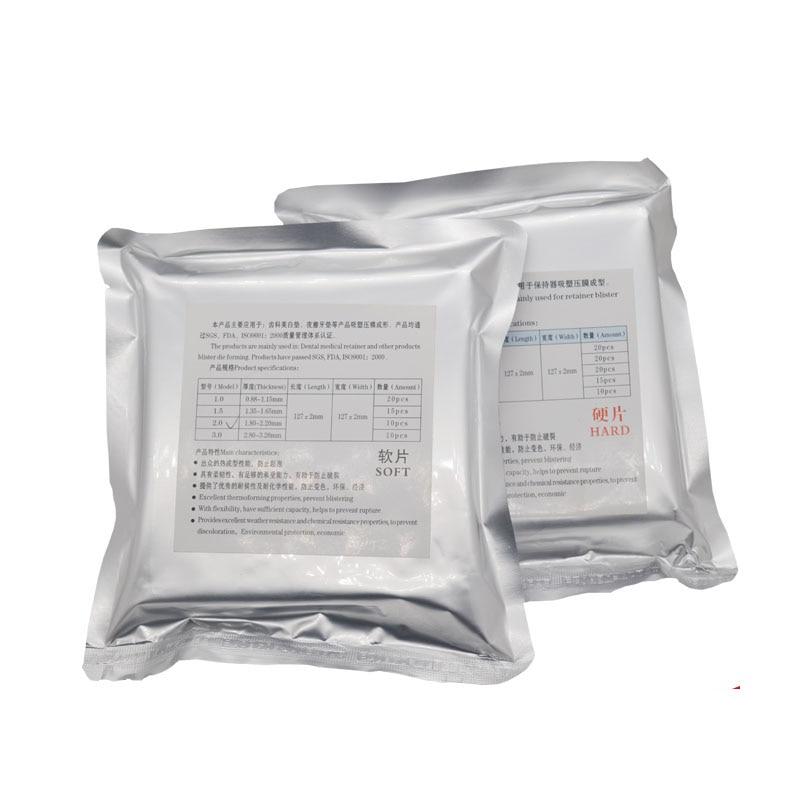 Жесткая вакуумная формовочная пластина, матричные полосы, стоматологический ортодонтический фиксатор, ломтик 1,0 мм/1,5 мм/2,0 мм на выбор