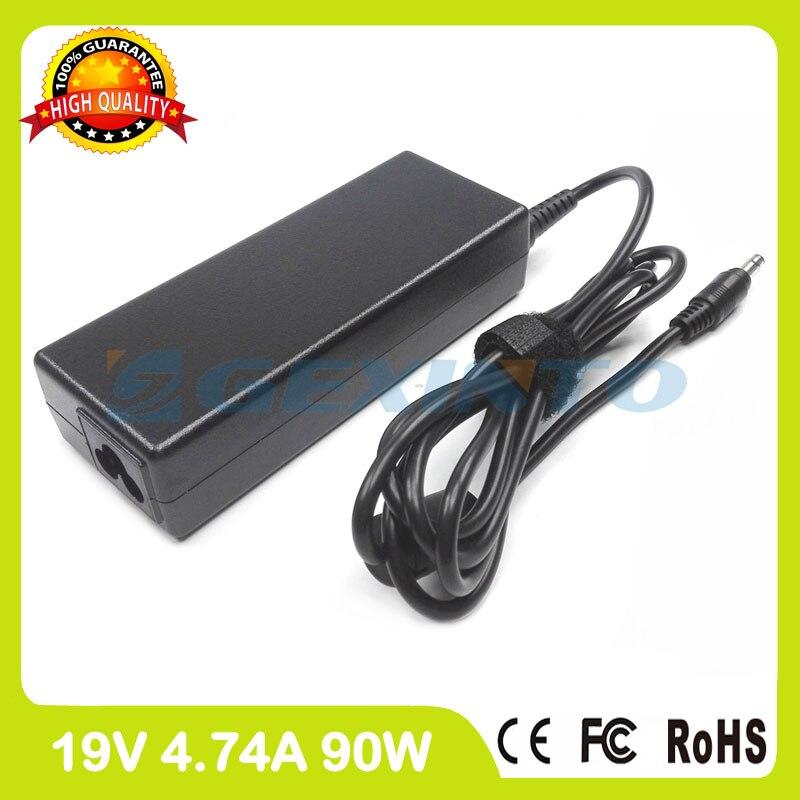 Ac adapter 19V 4.74A cargador del ordenador portátil para Compaq Presario V4400 V4440 V5000 V5099 V5100 V5200 V5300 V6000 V6100 V6200 V6300 V6400
