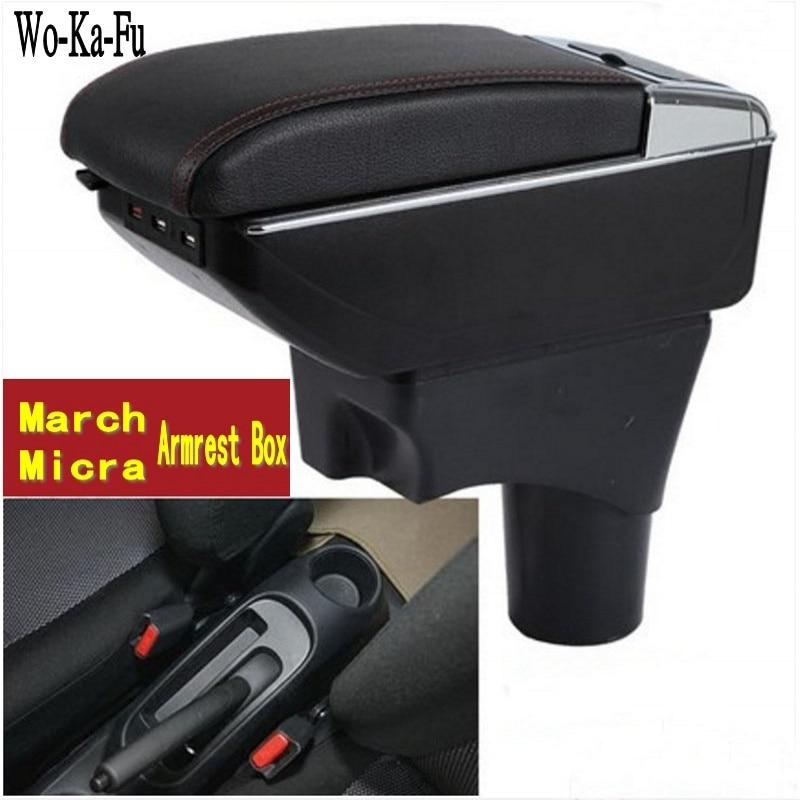 Caja de reposabrazos March Micra K13 MK4 IV