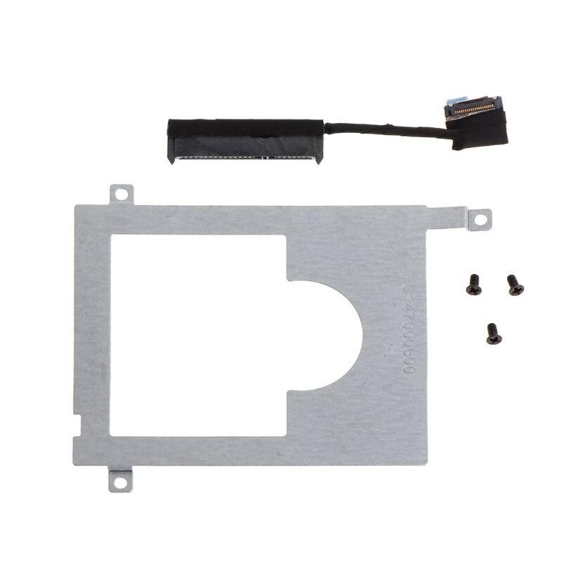 Soporte Caddy HDD, adaptador de disco duro SSD, conector de Cable, accesorio de portátil, tornillo para DELL E7450