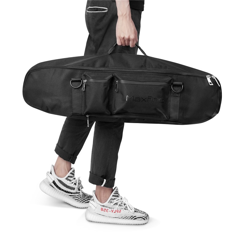 Maxfind llevar Portátil Bolsa de monopatín deporte al aire libre hombro mochila doble balancín bolsas envío gratis
