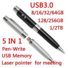 Хит продаж, 8 ГБ, 16 ГБ, 32 ГБ, USB 3,0, Usb флеш-накопитель, 64 ГБ, 5в1, металлическая модная мини-флешка, 1 ТБ, 2 ТБ, карта памяти, флеш-карта, подарок