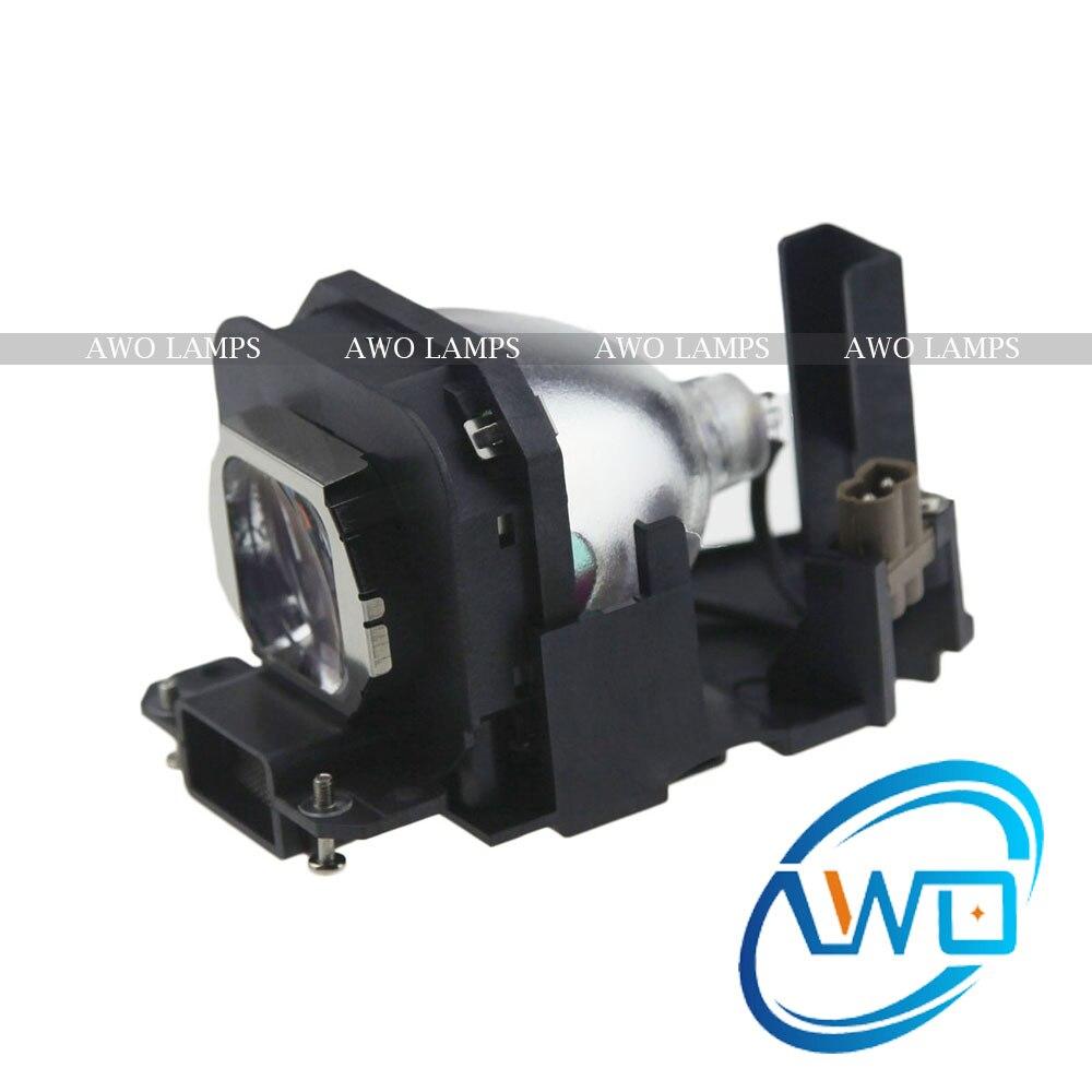 AWO Compatible proyector lámpara ET-LAX100 con la vivienda para PANASONIC PT-AX100E/AX200E PT-AX200 PT-AX200U/PT-AX100U/PT-AX200U