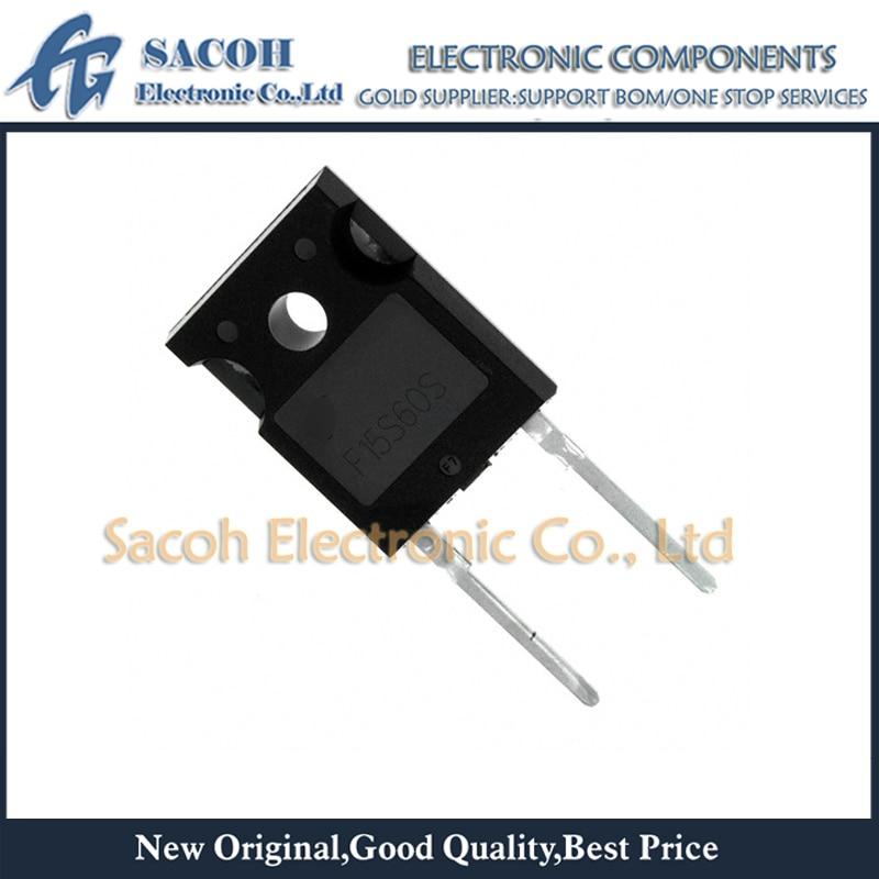 Envío gratis 10 Uds FFH15S60STU FFH15S60S F15S60S-247 30A 600V rápido diodo de recuperación