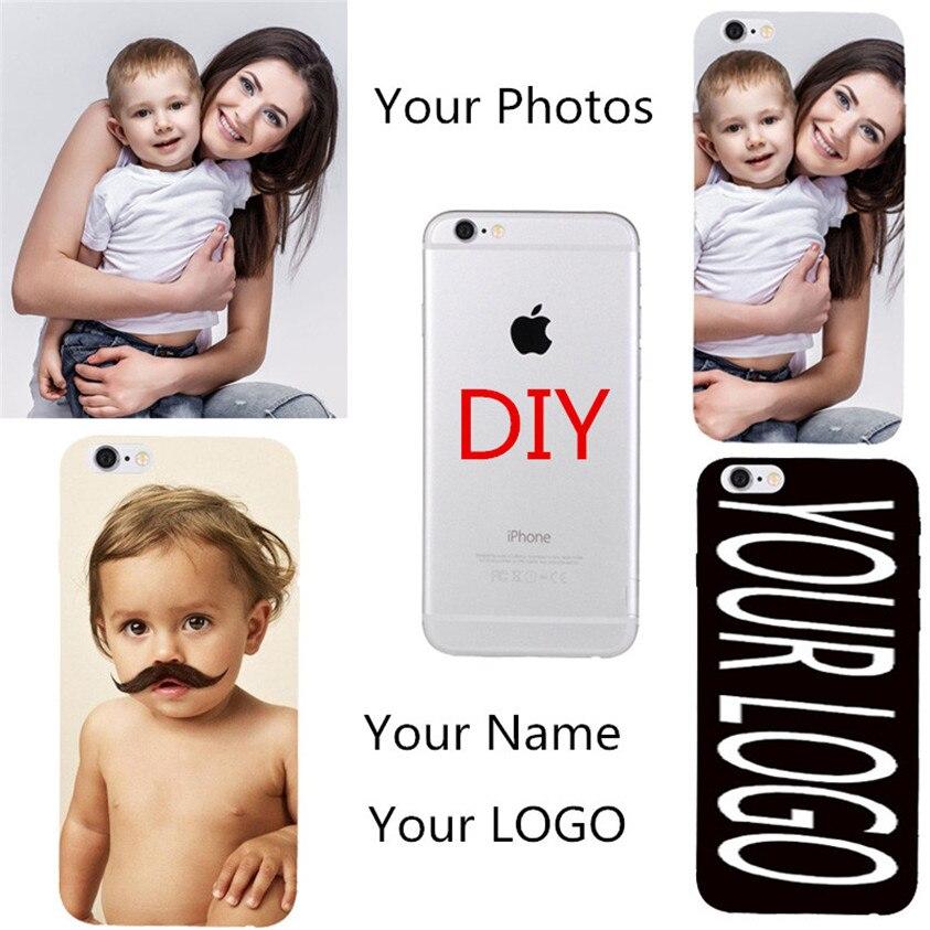 OEM DIY personalizado teléfono Coque para Samsung Galaxy S3 Mini i8190 S4 Mini i9190 funda cubierta trasera de PC duro foto personalizada nombre