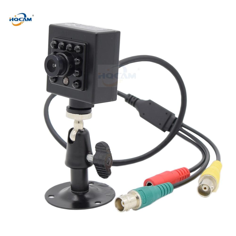 Cámara infrarroja HQCAM SDI 50FPS 60fps, visión nocturna AHD + SDI + CVBS 1080P, cámara espectacular de 1/3 pulgadas, cámara Mini SDI con Sensor de 2,1 MP Panasonic