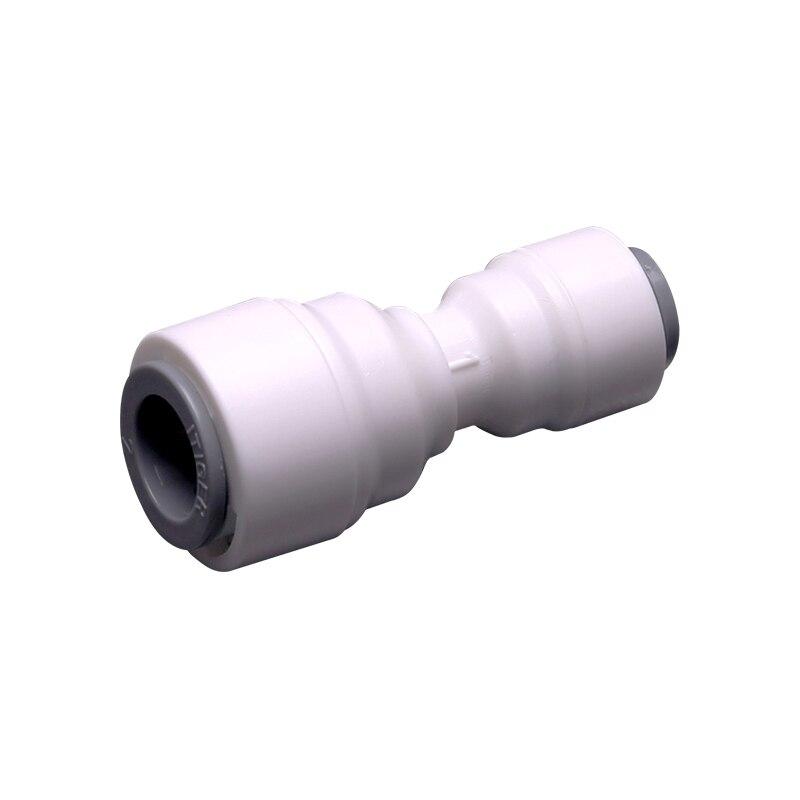 """1/4 """" - 3/8 OD Rohr RO Wasser Schnell Anschluss Reduzierung Gerade Engen Junction Doppel Abdichtung PE Rohr Fitting Filter system"""