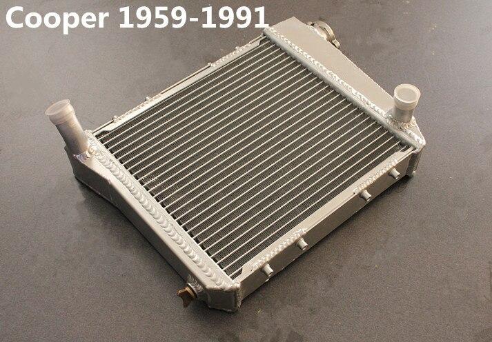 Wysokiej jakości 40mm radiator ze stopu aluminium dla Mini Cooper S, CLUBMAN/Leyland/1275GT, 850/998/1098 1959-1990