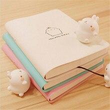 Mignon Kawaii cahier dessin animé mignon beau Journal Journal planificateur bloc-notes pour enfants cadeau coréen papeterie trois couvertures