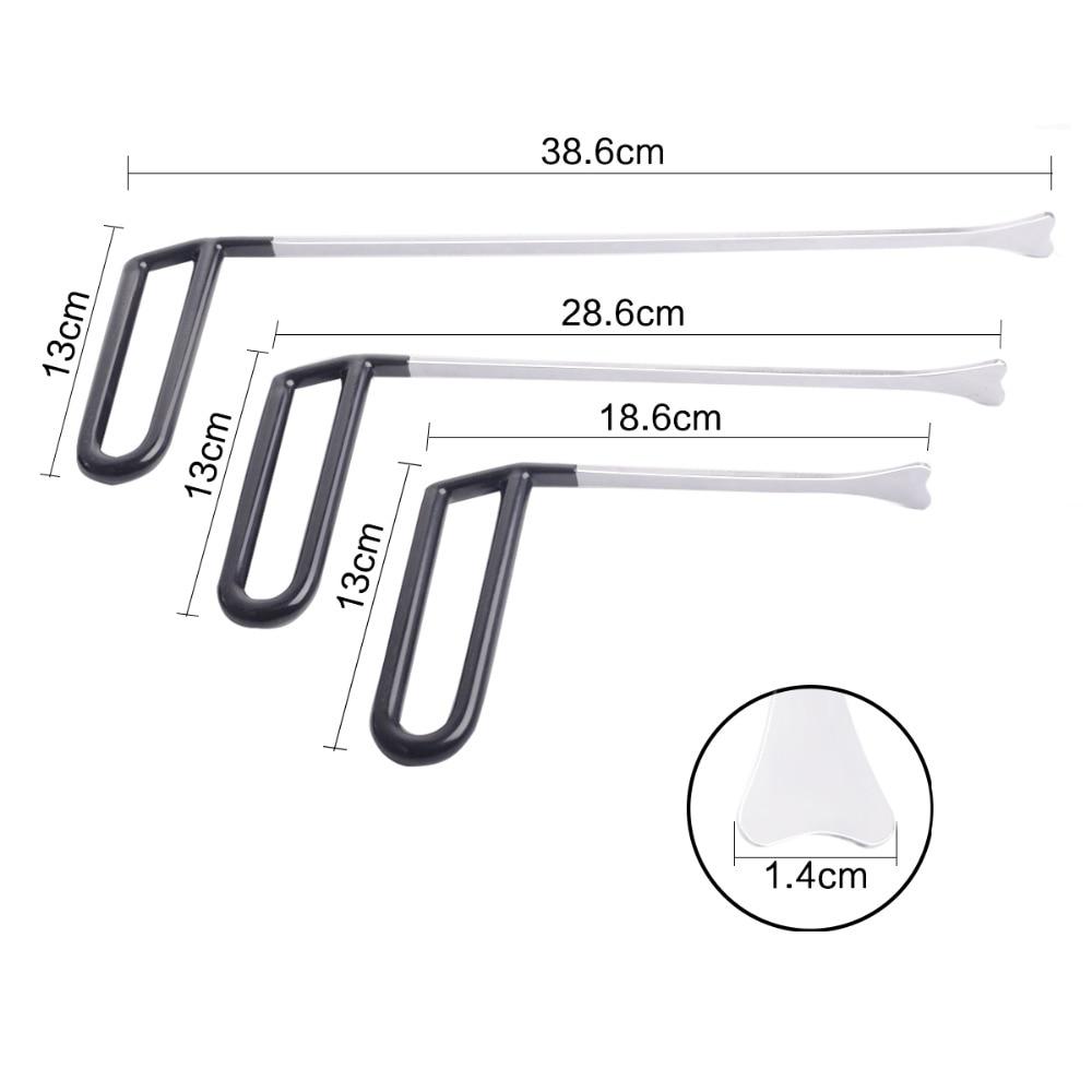 3pcs spring steel Flat hook rod Original Whale Tail Tip Crowbar tool kit for Paintless Dent Repair hand tool ferramenta