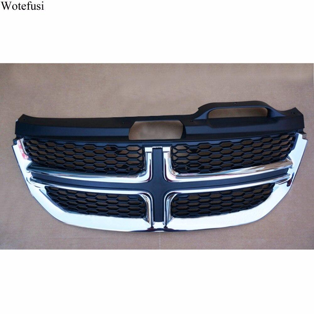 Wotefusi новый ABS передний центр решетка сетки гриль крышка для Dodge Journey 2011 2012 2013 2014 2015 2016 [QPA378]