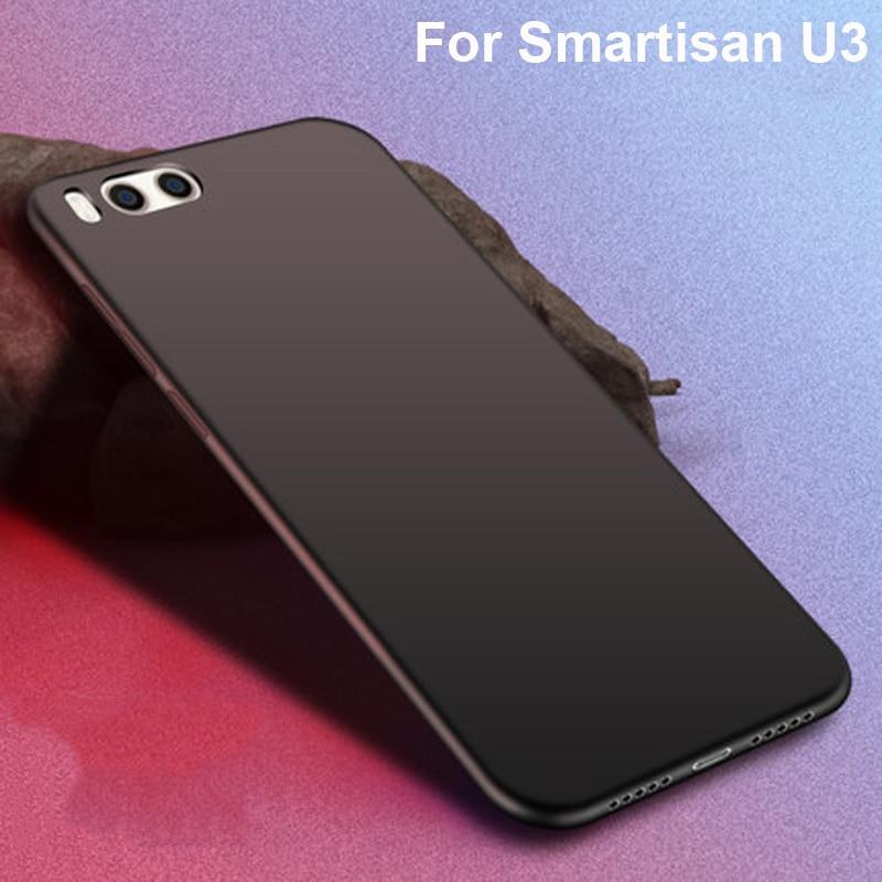 Coque para Smartisan U3 Funda de color sólido a prueba de golpes de silicona TPU Funda de armadura para Smartisan U 3 SmartisanU3 fundas de teléfono