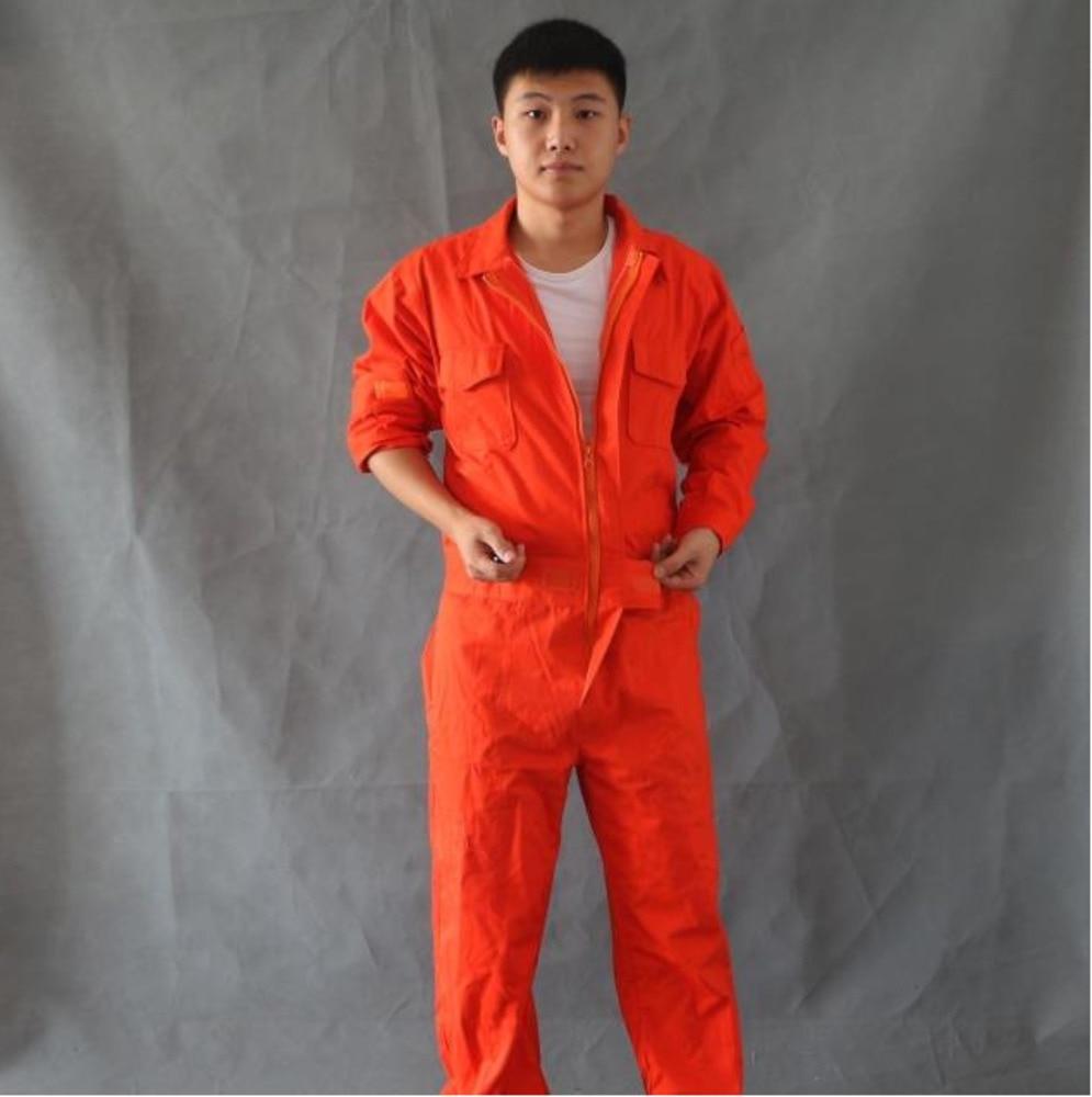 Men 100% cotton work jumpsuit Repairman tooling one piece pants plus size singer costumes Male Work Wear uniforms Coveralls 0904