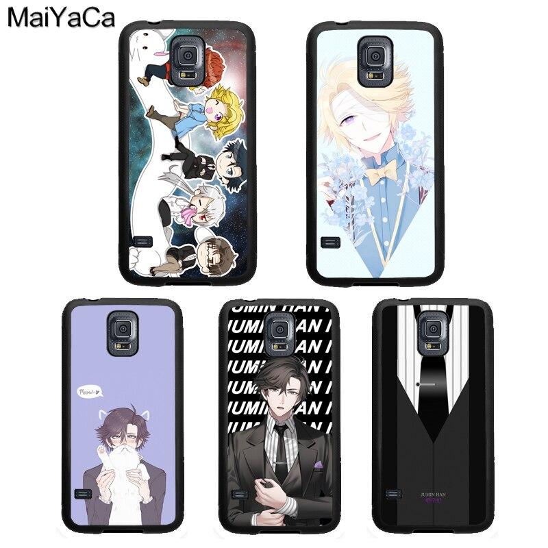 Cominho Yoosung Místico Mensageiro Case Para Samsung Galaxy A51 A71 A50 A70 A10 A30S A40 Nota 10 S8 S9 S20 Ultra S10 Plus S10e