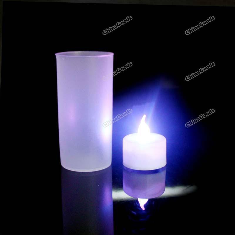 Larainevip из светодиодов электронные при свечах свадьба ну вечеринку свечи 7
