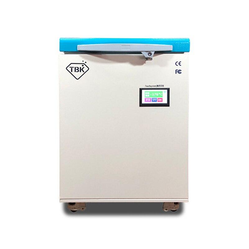 -Congelador congelado da máquina de separação 175 lcd do telefone de TBK-578 graus que separa a máquina para a tela do ip da borda de samsung que separa