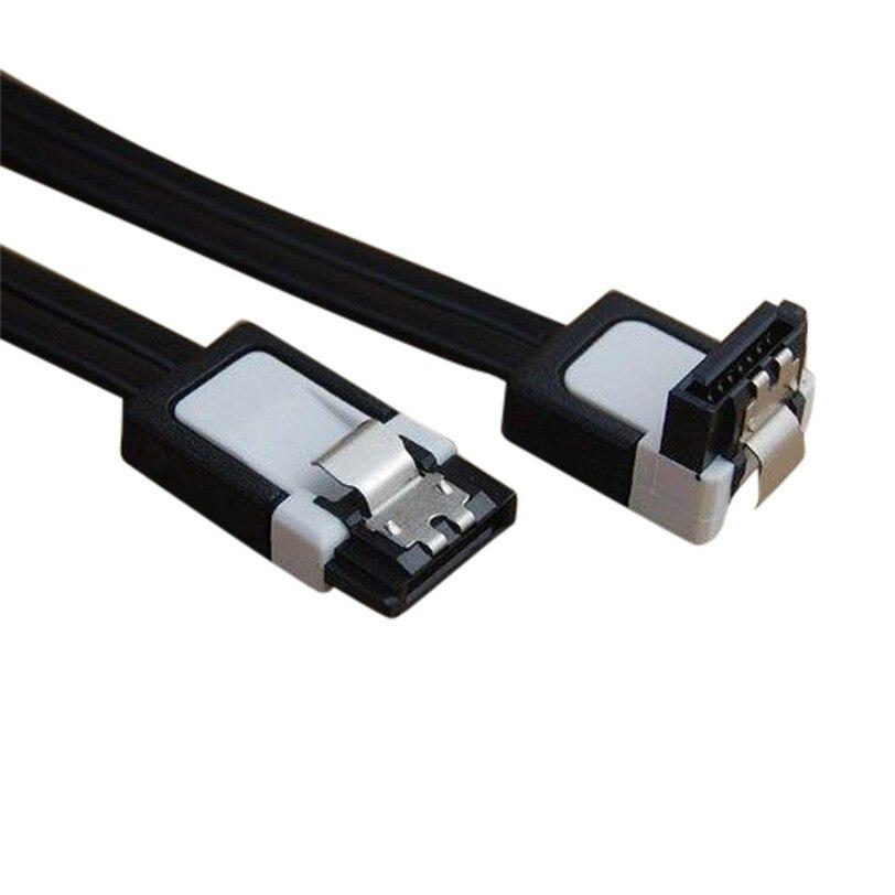 2 шт. SATA 3,0 III SATA3 6 ГБ/сек. SSD жесткий диск прямой/правый угол кабель Jun22 профессиональная заводская цена Прямая поставка