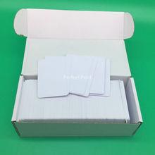 230 pièces/lot carte didentité PVC vierge imprimable double face jet dencre brillante sans puce pour Epson T50 P50 A50 T60 L800 TX720WD PX700W PX800FW