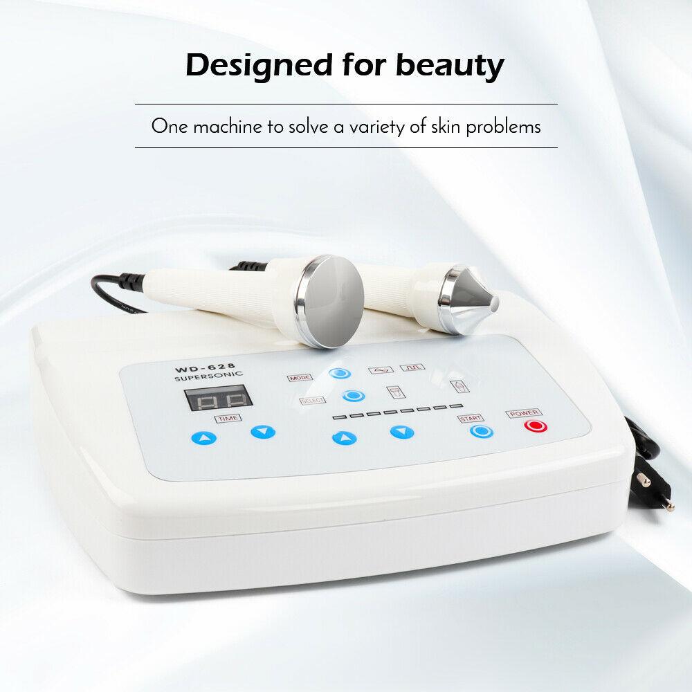 برو 1Mhz 3MHz بالموجات فوق الصوتية جهاز للعناية بالوجه مكافحة الشيخوخة الجلد رفع صالون سبا الجمال جهاز العناية بالبشرة مع القضاء على النمش