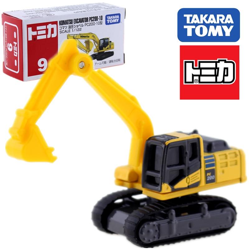 Takara Tomy Tomica world, Комацу, PC200-10, строительный автомобиль №9, литой под давлением автомобиль, игрушки для детей