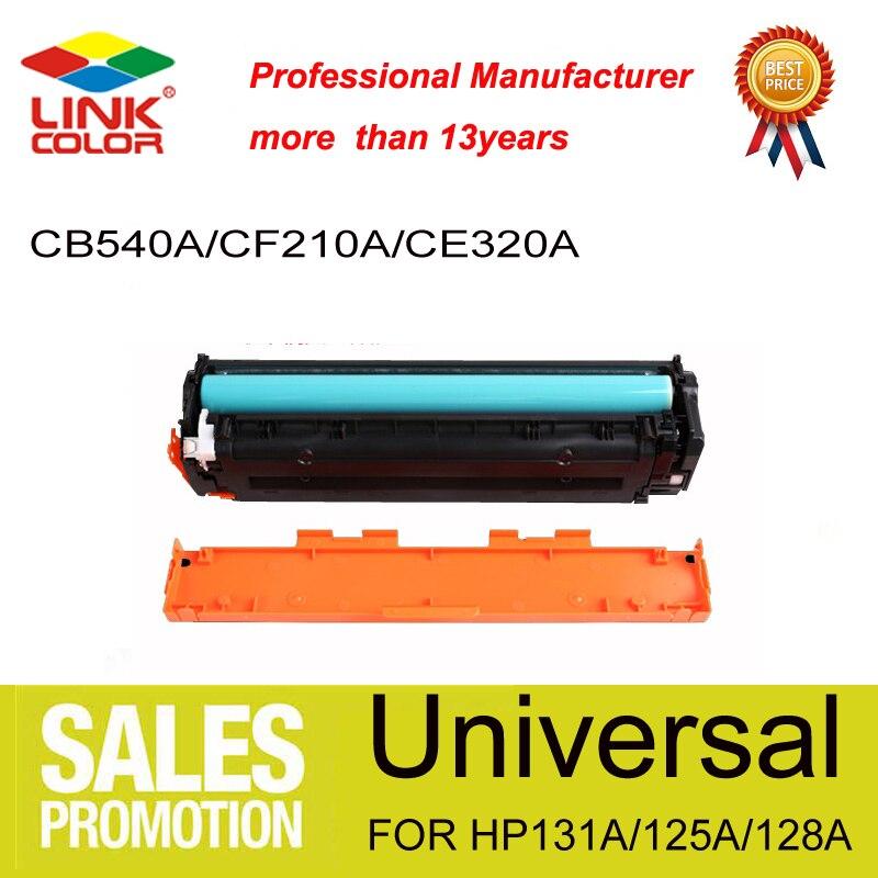 125A 125 CB540A 540A 540 الحبر محبرة لـ HP اللون CP1210/1215/1515/1518/CM1312 'CM1312NFI لكانون 5050/5050N (2200 صفحات)
