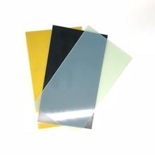 블랙 옐로우 glassfiber 템플릿 보드 시트 에폭시 유리 섬유 fr4 유리 섬유 플레이트 diy 나이프 핸들 재료 300x170x1mm