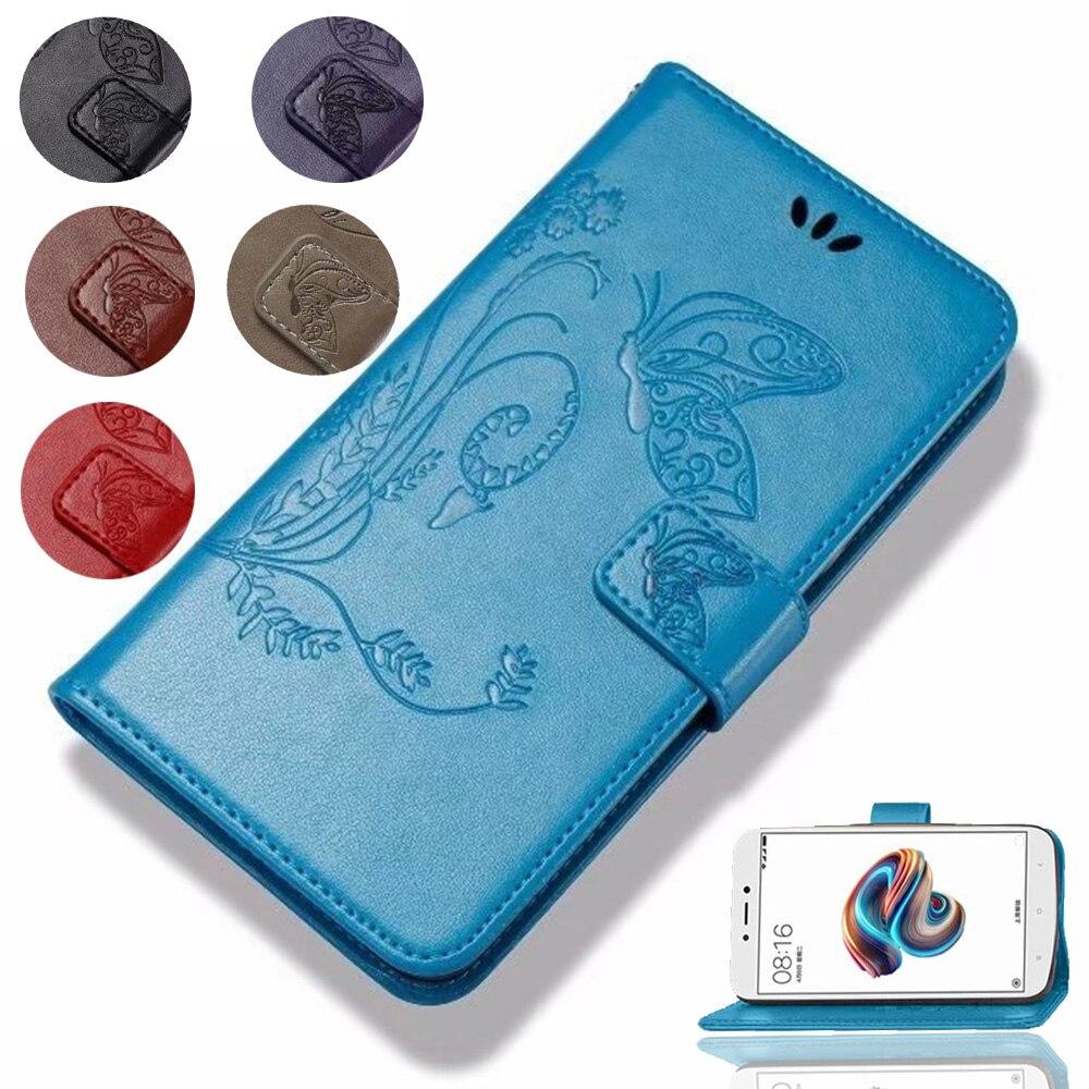 Mariposa cuero de moda cartera Flip caso para Blackview A8 Max E7 E7s P2 R6 R7 Omega Pro Zeta funda de protección del teléfono