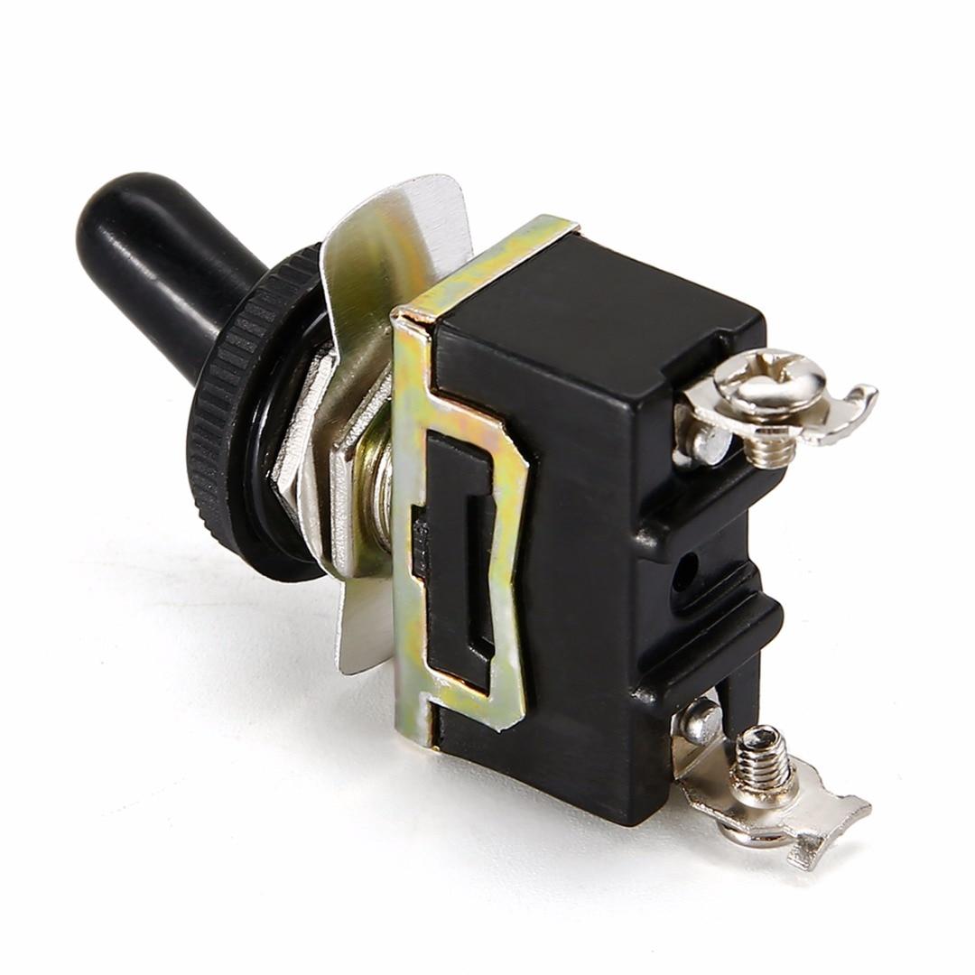 2-позиционный миниатюрный рычажный выключатель SPST + Водонепроницаемая Крышка 6 A/250 VAC 10 A/125VAC