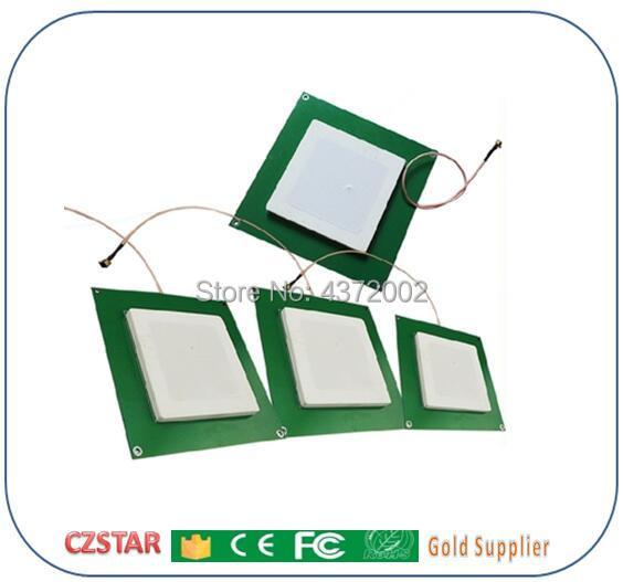 UHF RFID card reader antenna 1-6meters long distance range Antenna PCB ceramic small 868mhz antenna for Integrative UHF Reader