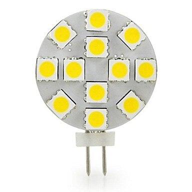 Светодиодные лампы G4 с боковым штифтом, 10 шт. в упаковке, 1,8 Вт, 220 люмен, 12 Вольт, 20 Вт эквивалент, G4 Bi Pin Базовая галогенная Запасная лампа