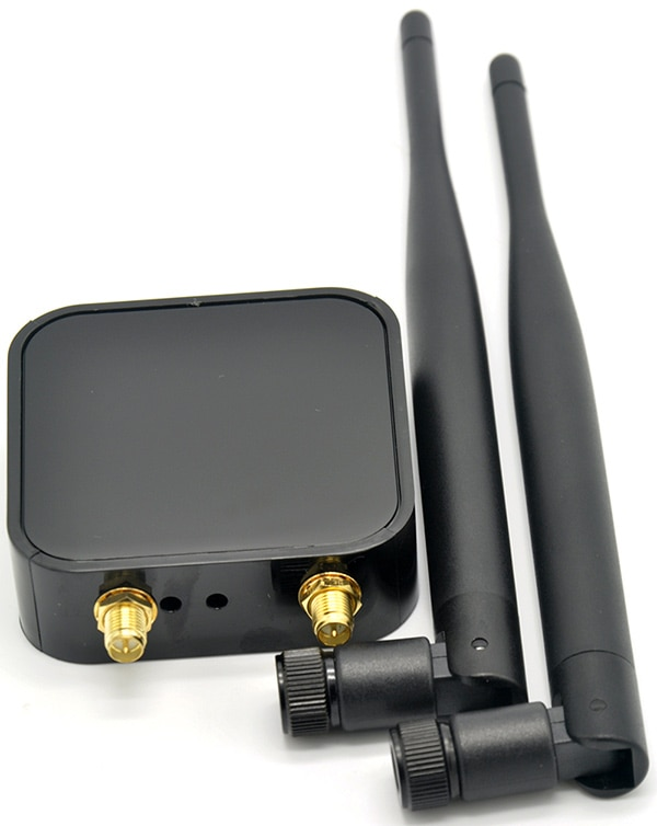 RaLink RT3572 Двухдиапазонный 600 Мбит/с WiFi USB адаптер WiFi адаптер с 2 x 6dBi внешняя WiFi антенна для SamSung TV Windows 7/8/10