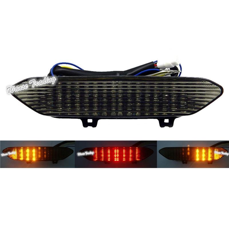Waase для Yamaha YZF R1 2002 2003, задний стоп-сигнал, указатели поворота, встроенная светодиодная лампа