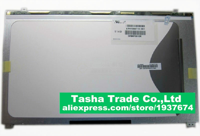 Pantalla de ordenador portátil LTN156AT19-001 LTN156AT19 001 Panel LCD 1366*768 mate LVDS 40 pines mate