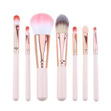7Pcs Makeup brush Set Pink Cosmetics Kit high-end Make up Tool Powder Foundation Eye Shadow Brushes Kit  de pinceis de maquiagem