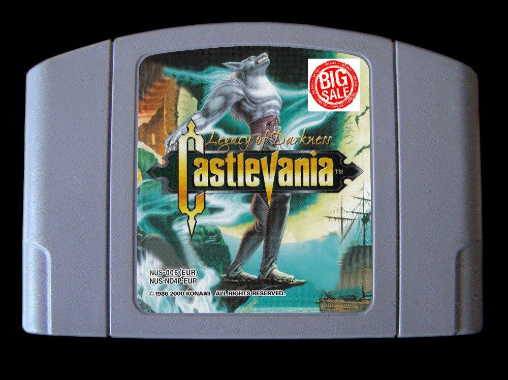 64Bit juegos ** Castlevania legado de la oscuridad (Inglés versión PAL!)