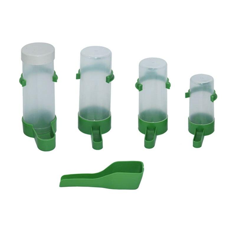 Alimentador de bebedouro automático para pássaros, copo, gaiola para pássaros, fonte, bebedouro, acessórios para gaiola de pássaros, 1 peça
