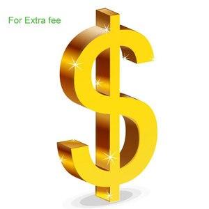 Extra Fee -- No refund