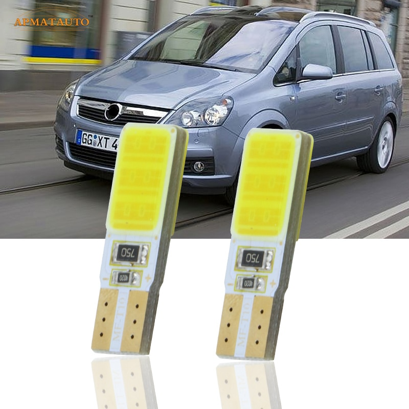 2x T10 W5W CANBUS LED luces de estacionamiento marcador lámparas bombilla para Opel Zafira B Opel Zafira Corsa C Cambo D Vauxhall Corsa 3 Van