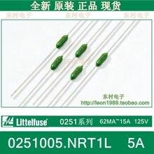 [SA] résistance de fusible des forces spéciales américaines Littelfuse 0251005.NRT1L 5A LF 125V-200 pcs/lot