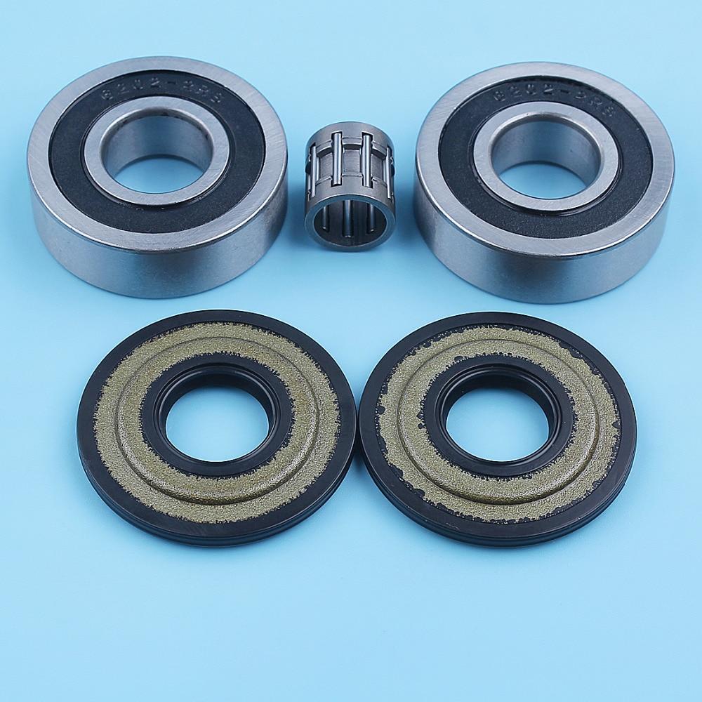Комплект игольчатых подшипников коленчатого вала для Husqvarna 445 445e II 450 Rancher 450e II, запчасти для бензопилы 544062001