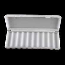 1PCS 10X18650 Battery Holder Case 18650 Storage Box Holder White Hard Case Cover Battery Holder Organizer Container