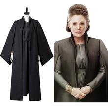 Star 8 déguisement princesse Leia Cosplay déguisement ensemble complet Leia Organa Solo Cosplay uniforme général Halloween carnaval adulte