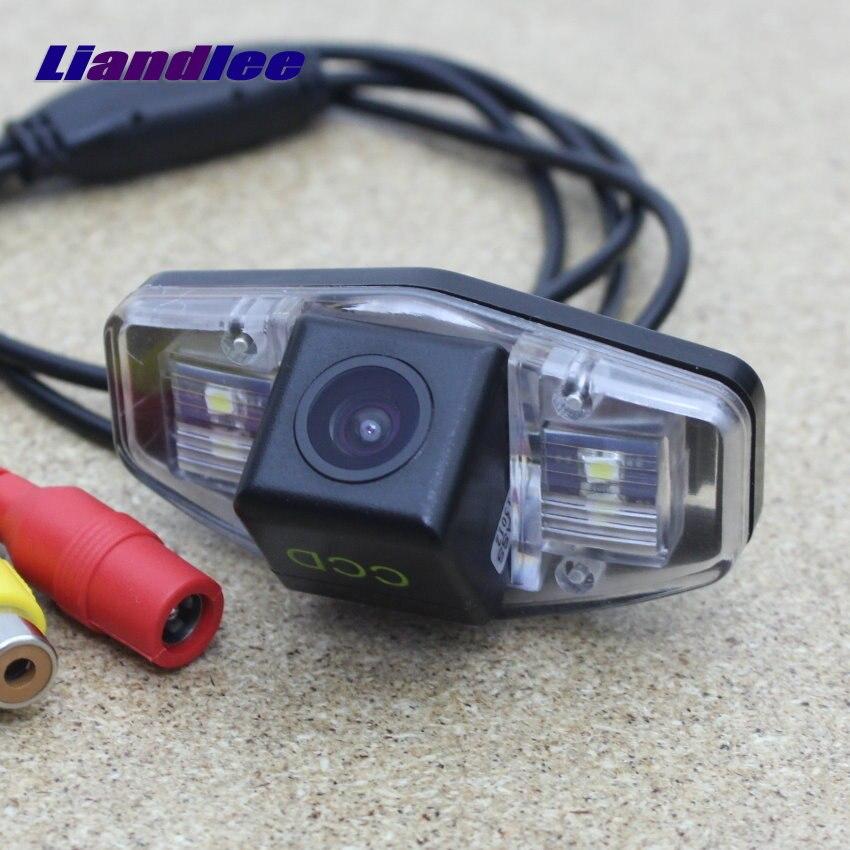 Liandlee para Honda Accord/Inspire/Spirior 2003 ~ 2007 cámara de marcha atrás para estacionamiento/Raer cámara/CCD HD Visión Nocturna
