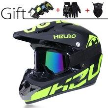 Super-Cool Motorcycle Off-road Helmet ATV Dirt Bike Helmet MTB Downhill Full Face Helmet Free 3 gifts&a lot of Design capacetes